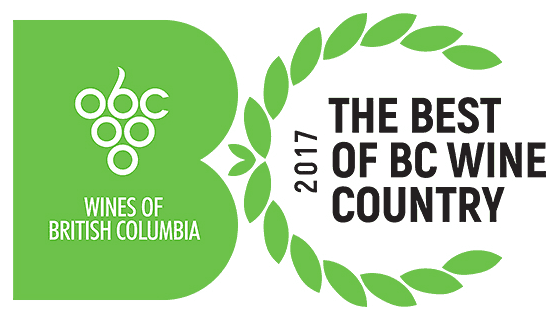 Wines of BC - 2017 Best of BC Wine Countr logo