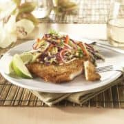 Crispy panko turkey cutlets photo